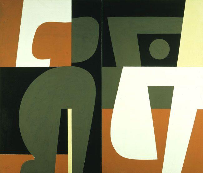 'Love Scene' (1982) by Yiannis Moralis