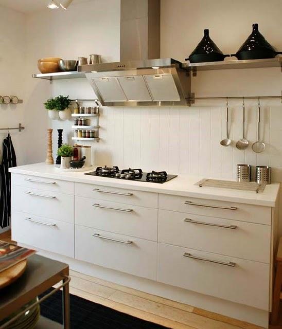like the large drawers, three across.    Kitchen: Ikea (scandi) design. Pleasantly surprised.