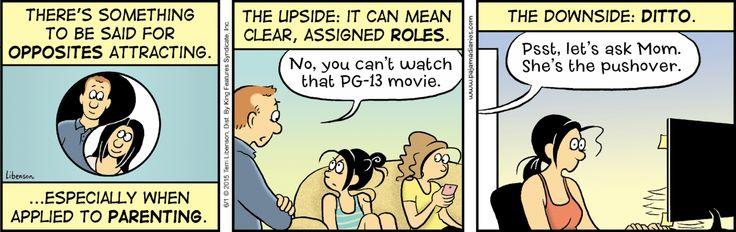 Pajama Diaries Comic Strip for June 01, 2015 | Comics Kingdom