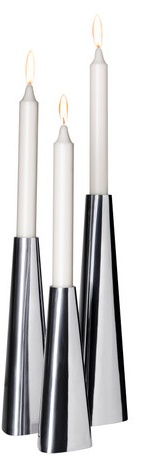 Candlesticks from IKEA. Watch movies by candlelight in the kino space. http://www.dancefilmskino.com
