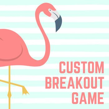 Do you need a Breakout game and don't have time to plan it? Then this is the perfect option for you.If you provide a topic and a few supplemental materials (study guides, notes, etc.), I can handle the rest. I typically design games for Middle and High School.