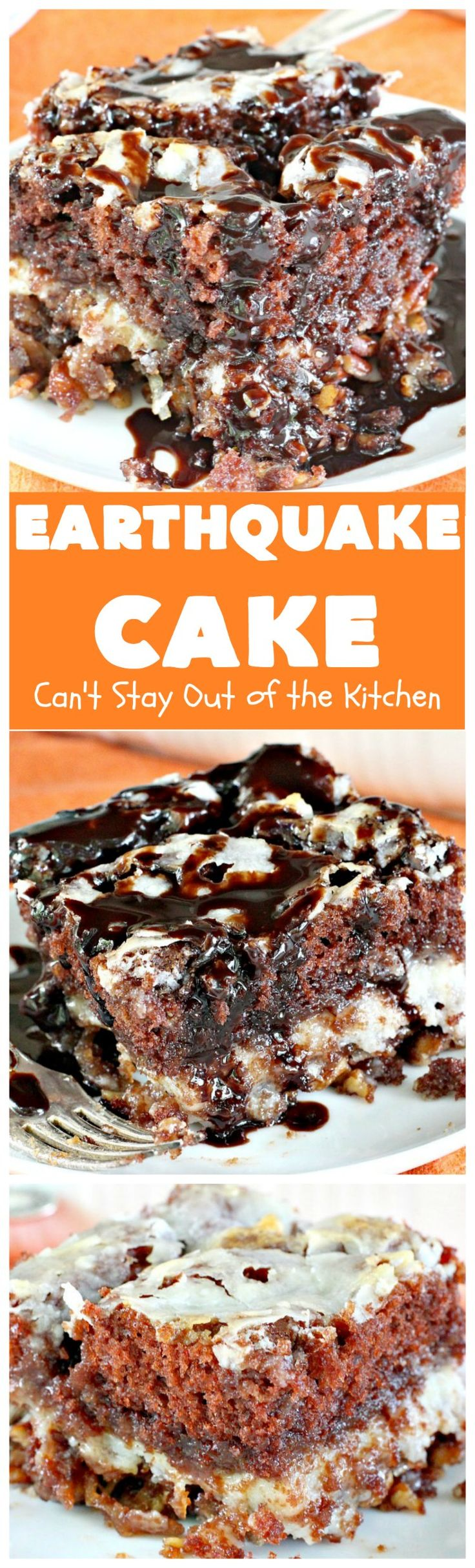 """Earthquake Cake 