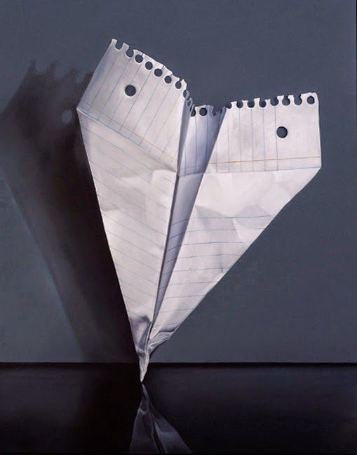 Image result for paper airplane paintings