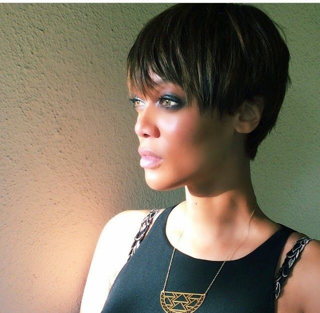 Tyra Banks Debuts Pixie Cut on Instagram