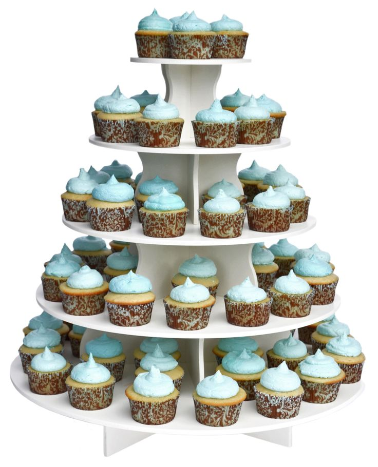 5 Tier Round Cupcake Tower Stand-Reusable and Adjustable - Holds 70-90 Cupcakes - Perfect for Weddings, Birthdays, Holidays or any Event by AllCustomGifts on Etsy https://www.etsy.com/listing/57421555/5-tier-round-cupcake-tower-stand