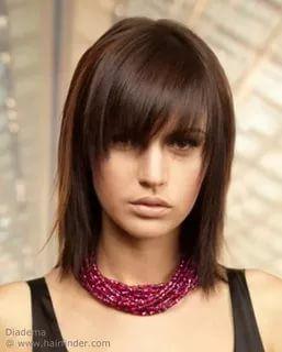 стрижки на средние волосы с челкой: 18 тыс изображений найдено в Яндекс.Картинках
