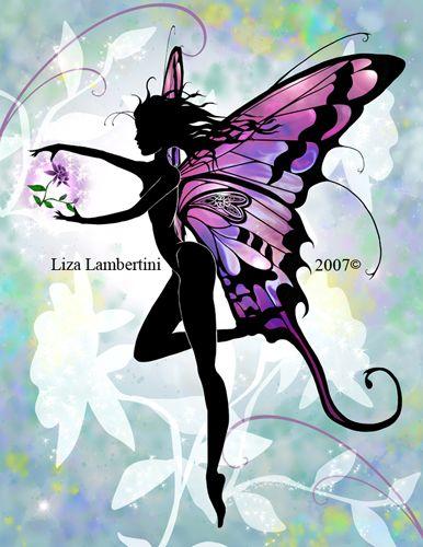 Flower Fairy by Liza Lambertini