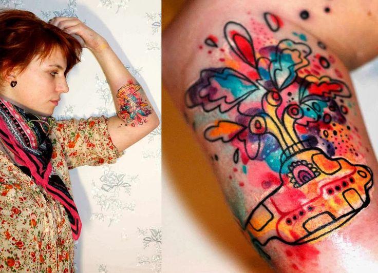 emelynramona: Tattoo - Petra Hlavackovaa