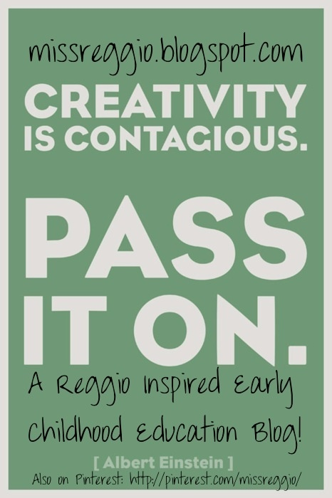 Please visit and follow my new blog: Creativity is Contagious...Pass It On! missreggio.blogspot.com