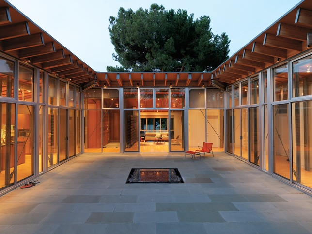 77 best images about house plans on pinterest for House plans with courtyards in center