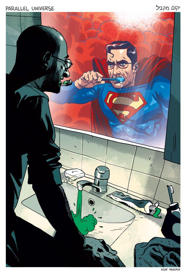 Asi debemos de vernos siempre. By The Realist (http://realistcomics.blogspot.com.es/)