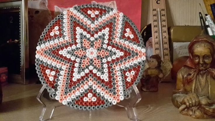 Mandala in hama beads