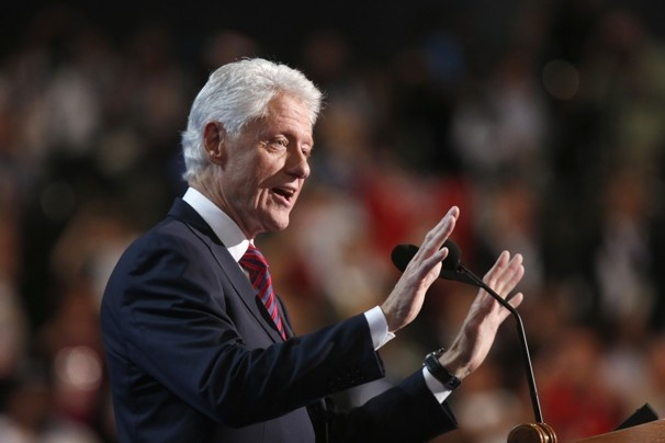 Bill Clinton's speech to the Democratic National Convention (Full transcript) - The Washington Post ... I didn't think anything could top Michelle - WRONG!