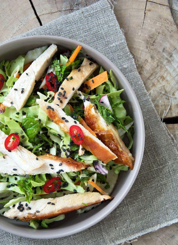 Kyllinge salat - vietnamesisk inspireret