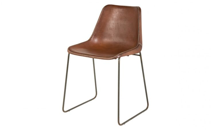 108 Best Leather Dining Chairs Images On Pinterest