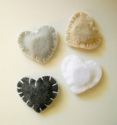 Magnets - could do with simple cotton, one with a washer, one with a magnetic strip and it could be a book mark.