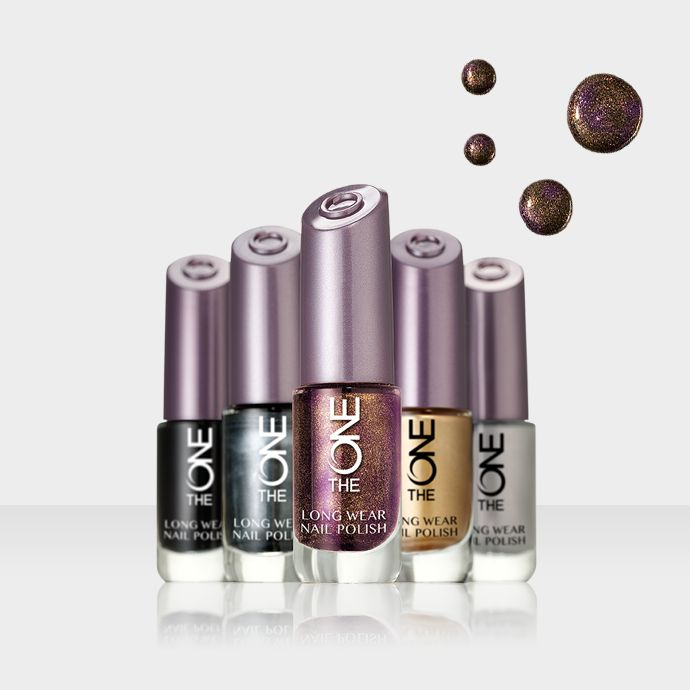 Oriflame The ONE Long Wear Nail Polish - autumn colors 2014 - limited edition