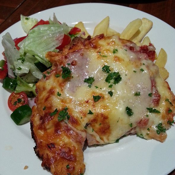 Chicken Parma from the Palmerston Hotel - South Melbourne