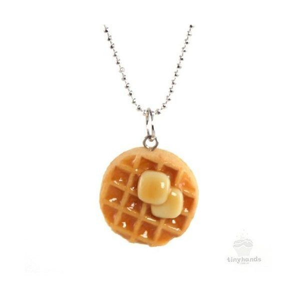 This waffle necklace actually smells like waffles!