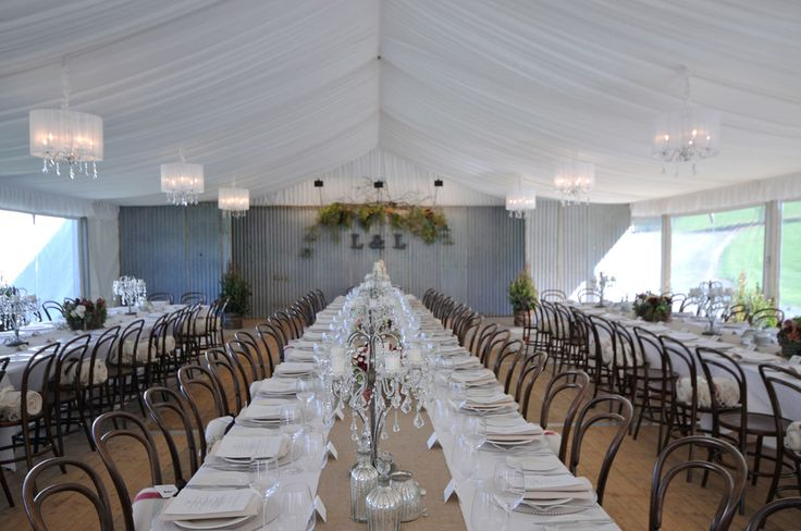 RUSTIC CHIC WEDDING MARQUEE. Just the perfect combination of rustic and contemporary elements to create this chic wedding style. Wedding Gallery | Hire Ideas & Inspiration | Your Event Solution | YES #weddings #YourEventSolution