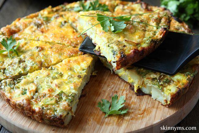 Crustless+Asparagus+Quiche