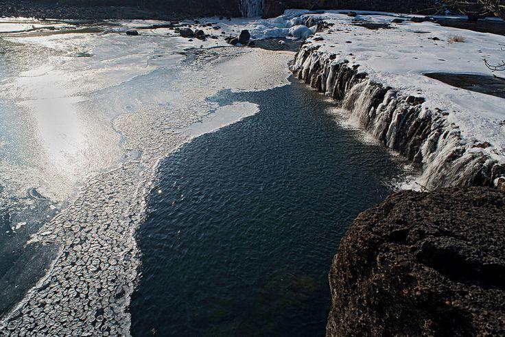 Jiktang Falls Giving Way to the Hantang River  http://www.mattmacdonaldphoto.com