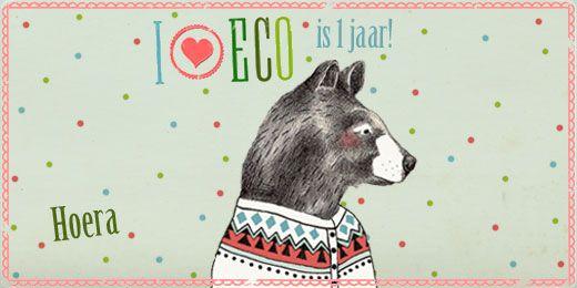 I ♥ eco blaast één kaarsje uit!   Gratis weekmenu-planner!   by Lieke van der Vorst