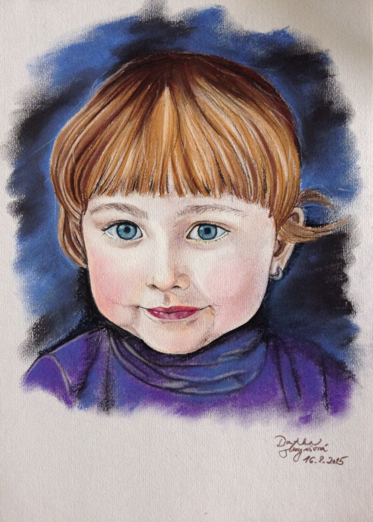 #portrait #softpastel #children #love