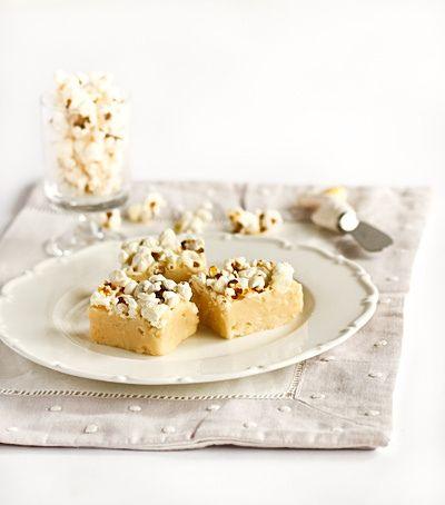 raspberri cupcakes: Popcorn Fudge