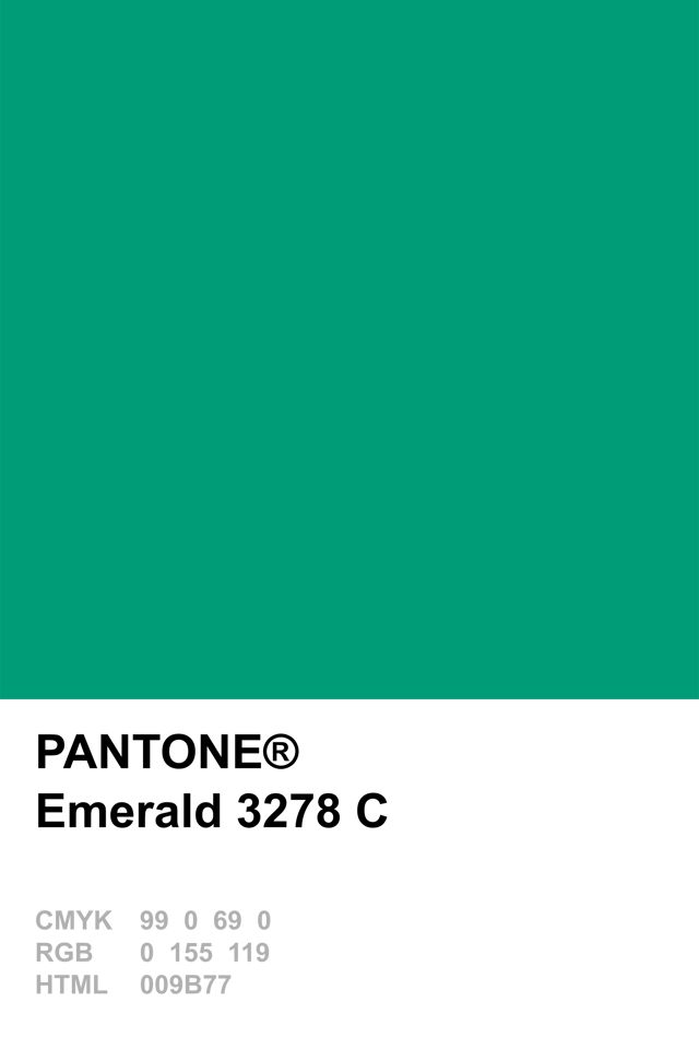 Pantone Colour Of The Year 2013 Emerald