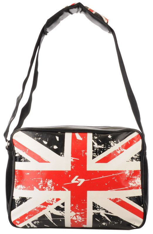 Gallantry - torba na ramię A4, flaga brytyjska | Inne kolory Torebki