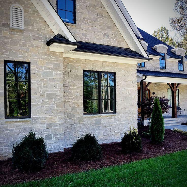 Fond Du Lac Kensington Blend Veneer Modern Stone Home