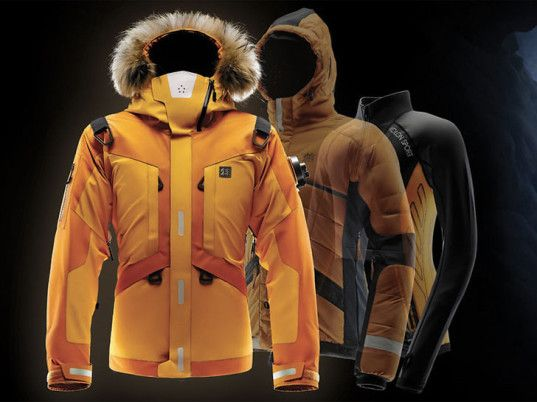 The Life Tech Jacket designed by Seymourowell for Kolon Sports is the Swiss Army Knife of jackets and comes equipped with a slew of wearable...