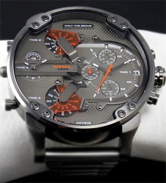 Watchismo times sneak peek preorder these new diesel mr for Watchismo
