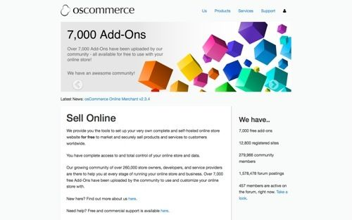 Best open source eCommerce website scripts and cms  If you are planning to make an eCommerce website then you need some pretty good scripts that can help you build a awesome website.Open-source eCommerce script is a ready made shopping carts which offers many features for free. Here we are listing most popularopen source eCommerce website scripts and CMS that can help you to make an awesome eCommerce website. # OS-COMMERCE  OS-Commerce is an open source eCommerce website script. It has lots…