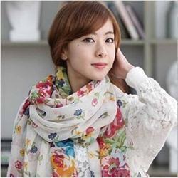 2 dollars Nouveau 2015 mode foulards de Style Pastoral femmes doux mélange de soie imprimé Floral écharpe Wrap femmes jolie accessoires élégants foulards dans Echarpes de Accessoires et vêtements pour femmes sur AliExpress.com   Alibaba Group