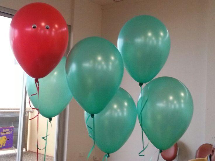Caterpillar balloons from born to party mosman