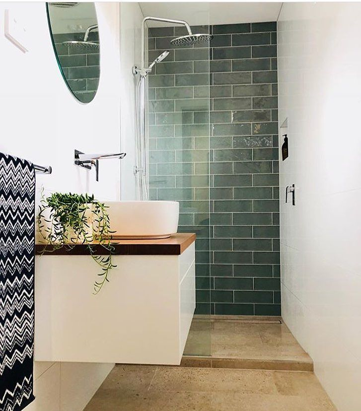 Pin By Bathroom Collective On Badkamer Modern Bathroom Design Small Space Bathroom Trendy Bathroom Tiles