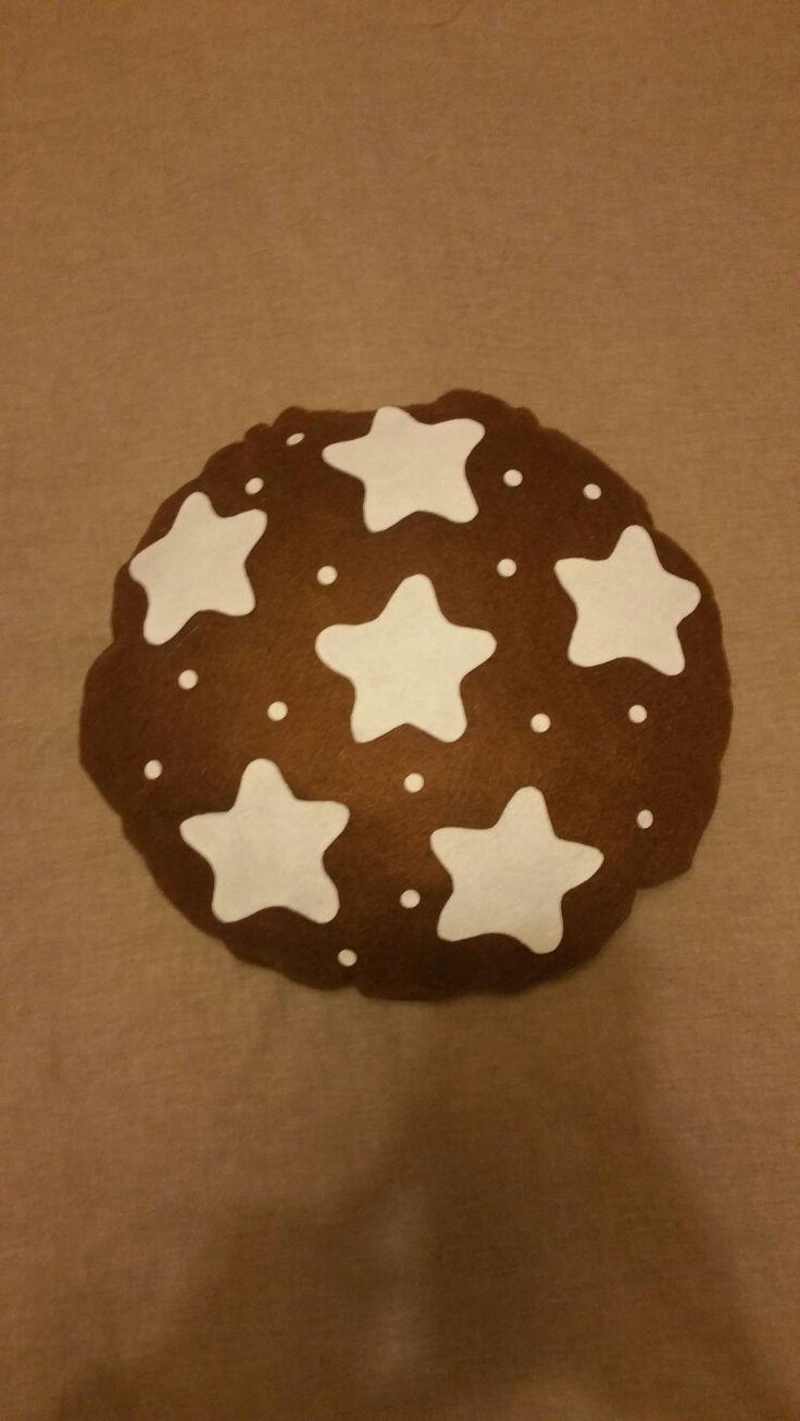 Pillow cuscino pandistelle biscotto biscotti biscuit