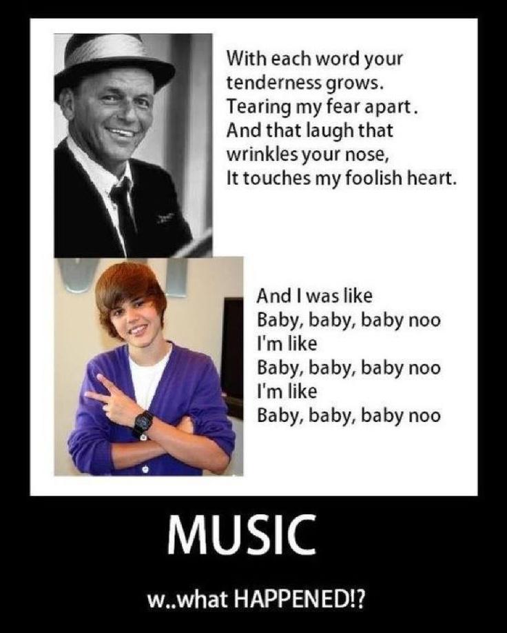 Love Biebs, but this is trueMusic, Justin Bieber, Laugh, Website, Blue Eye, So True, Funny Stuff, Happen, Frank Sinatra