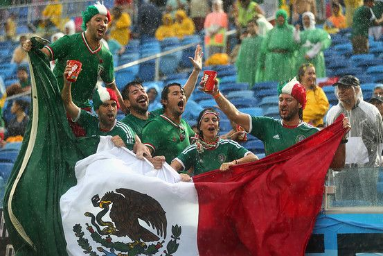 World Cup: Mexico Soccer Slur Under Scrutiny. Not so cool, Mexican fans, not so cool...