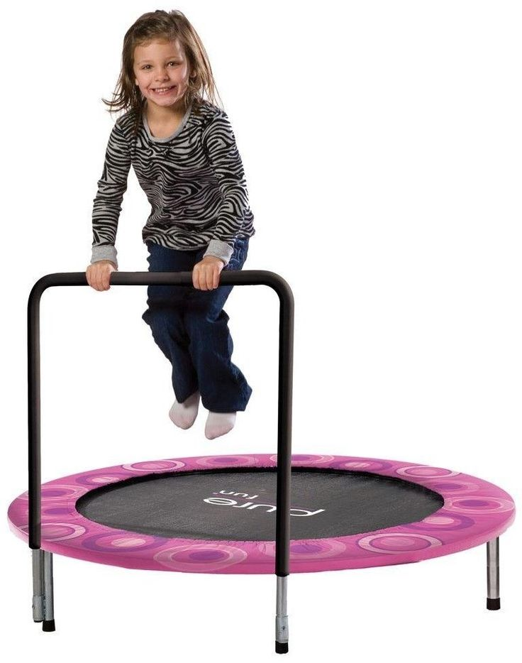 Mini Trampoline Kids Exercise Fitness Trainer Workout Jumper Children Outdoor #PureFun #kids #trampoline #fitness #toys #play #fun #girls #children #child #mini