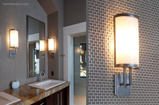 bathroom sconce lighting ideas light glass lenses underscore the artisan 16381