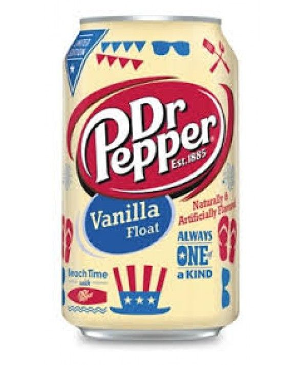 Dr. Pepper Vanilla Float