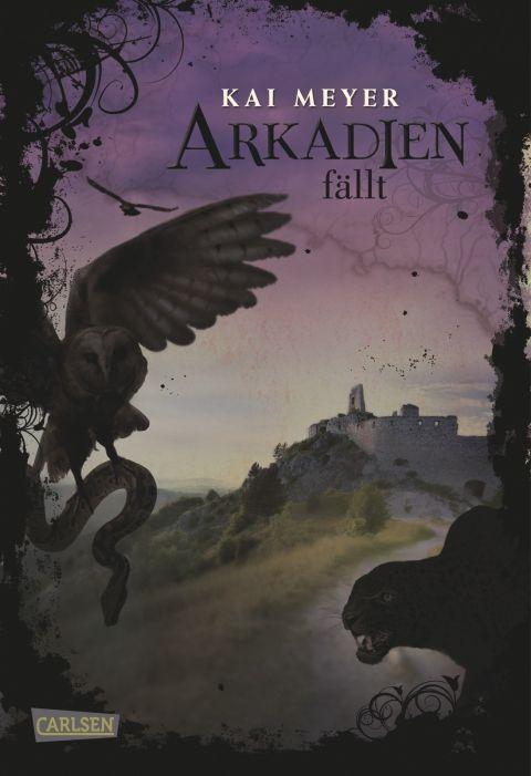 Arkadien fällt von Kai Meyer • 26. September 2011 • Carlsen Verlag http://www.carlsen.de/hardcover/arkadien-reihe-band-3-arkadien-fallt/17360