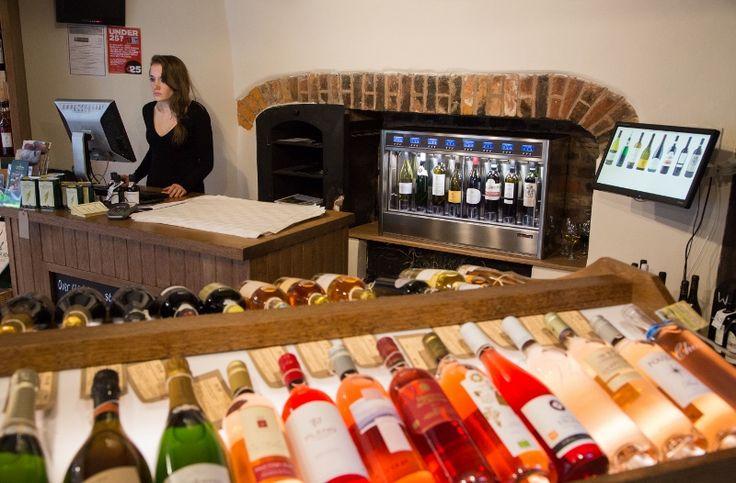 Tanners Shrewsbury UK WineEmotion Wine Dispenser