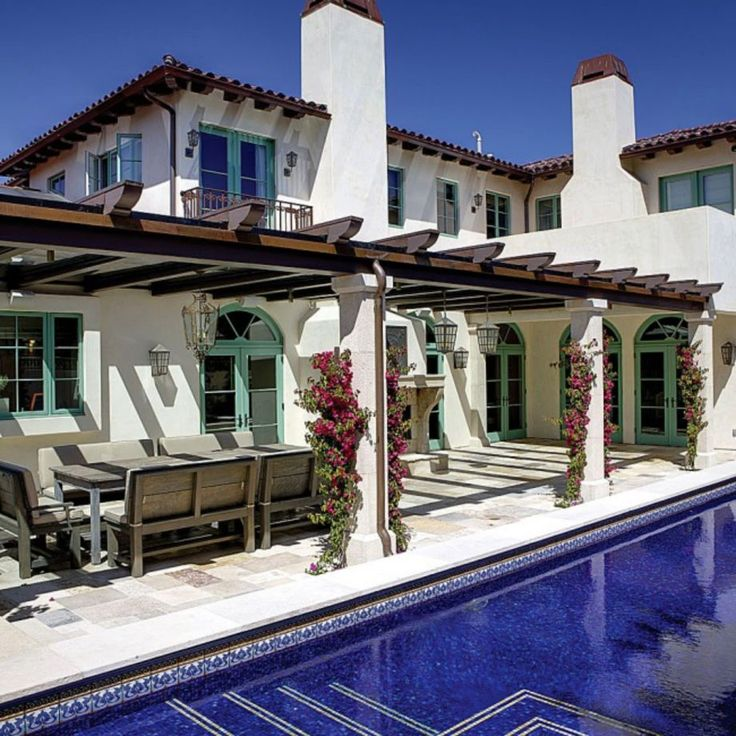 Spanish Style Home Exteriors: 13 Best Silly Shaped Swimming Pools Images On Pinterest