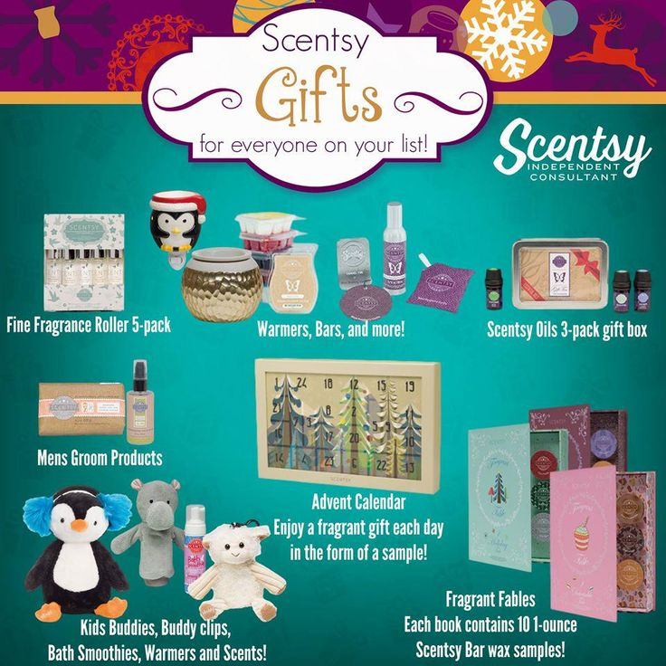 Scentsy Gifts For Everyone On Your List Https