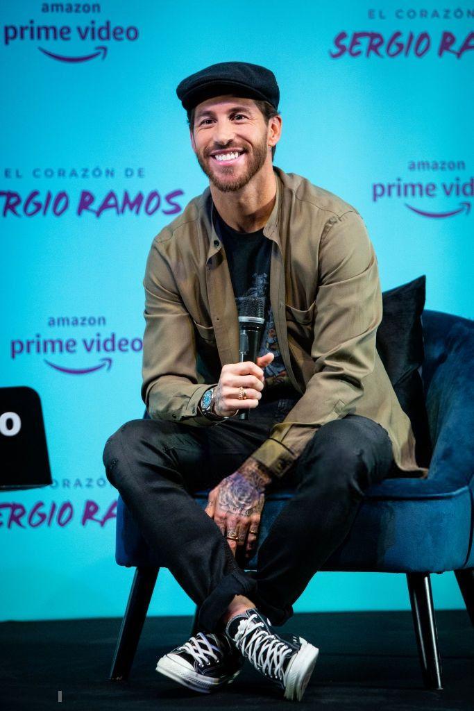 3dnan Sergio Ramos Attends The Presentation Of His Sergio Ramos Madrid Wallpaper Sports Celebrities