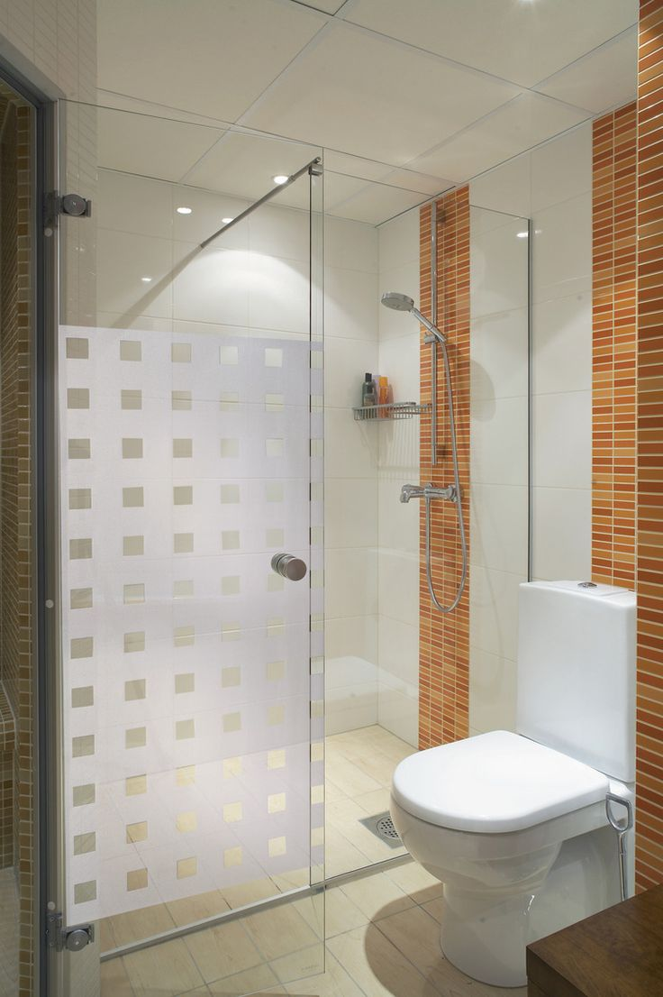 Create a little privacy and add interest to plain shower cubicles. & 73 best Window films - for privacy and decor images on Pinterest ...